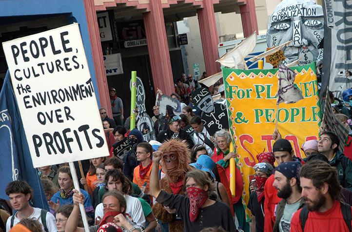 12  Anti-FTAA march, Miami, FL