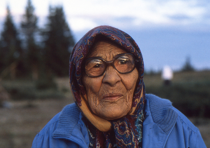 -*24.5 4 Cree Elder Woman, Quebec